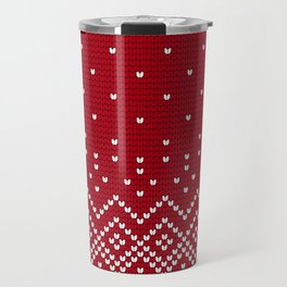 Pattern in Grandma Style #32 Travel Mug