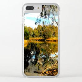 Reflective Light Clear iPhone Case