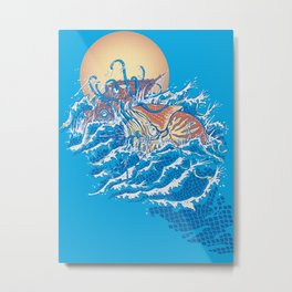 The Lost Adventures of Captain Nemo Metal Print