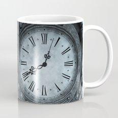 Silver Steampunk Clockwork Mug