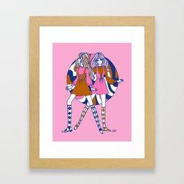 Woodstock Dollygirls Framed Art Print