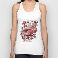 cuba Tank Tops featuring Cuba Libre by Tshirt-Factory