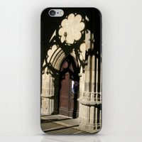 religious iPhone & iPod Skins featuring Religious shadows by Art de L'aube
