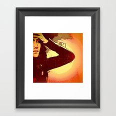 Mourning Sun Framed Art Print