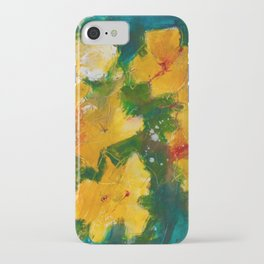 Party Pansies iPhone Case
