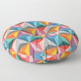 Piramid sweetness Floor Pillow