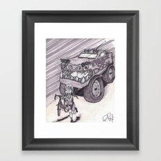 Truck of Doom Framed Art Print