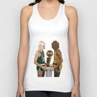 lakers Tank Tops featuring lego magic by tbdaniel15