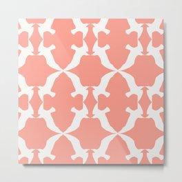 Steven the Seagull Pattern Metal Print