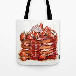 Strawberry Babe Tote Bag