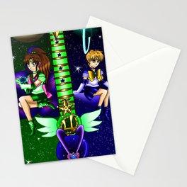 Fusion Sailor Moon Guitar #34 - Sailor Juptier & Sailor Uranus Stationery Cards