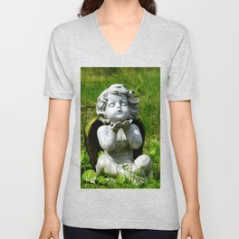 Kisses to Heaven Unisex V-Neck