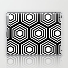 Monochrome Hex Laptop & iPad Skin