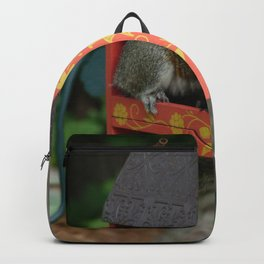 Sunshine Squirrel House Backpack
