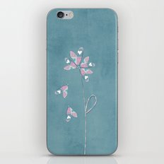 He loves me... he does not love me... he loves me! iPhone & iPod Skin
