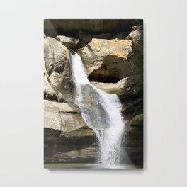 Cedar Falls Waterfall Metal Print