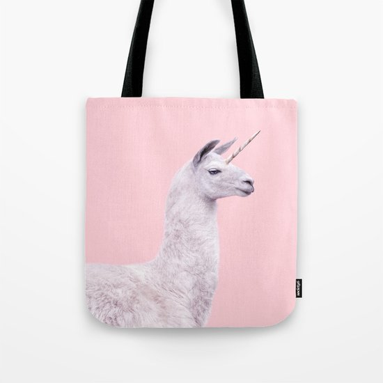 UNICORN LAMA Tote Bag