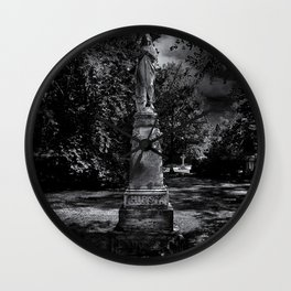 Tombstone Shadow No 2 Wall Clock