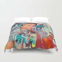 tequila Duvet Covers featuring D.S. Tequila by Kim Leutwyler