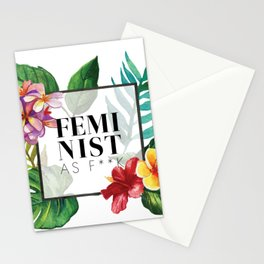 Feminist As F**k Stationery Cards