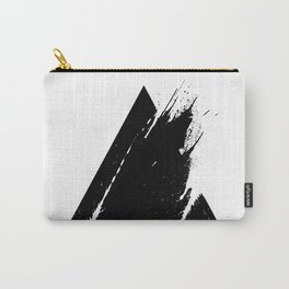 Splashed Triangle Carry-All Pouch