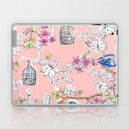 Victorian Birds garden Laptop & iPad Skin