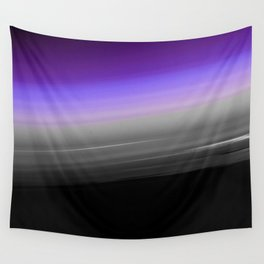 Purple Gray Black Smooth Ombre Wall Tapestry