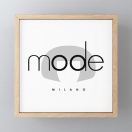 edna mode MILANO Framed Mini Art Print
