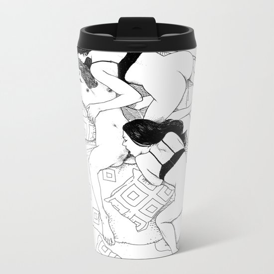asc 547 - My New Year's resolutions - March Metal Travel Mug
