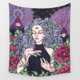 Eye See Wall Tapestry
