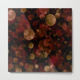 Autumn Lights Metal Print