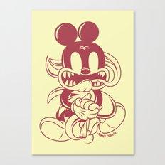 Junkie Mouse Canvas Print