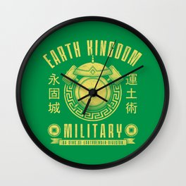 Earth is Strong Wall Clock
