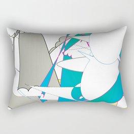 Color #7 Rectangular Pillow