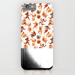 Body Positive. Women in summer swimsuits iPhone Case