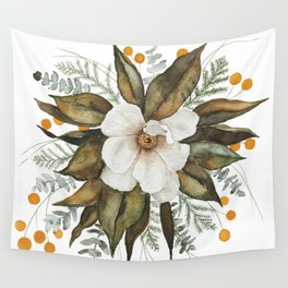Magnolia Bouquet Wall Tapestry