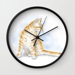 Cat 616 Wall Clock
