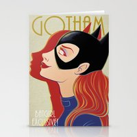 gotham Stationery Cards featuring Gotham by SatrunTwins