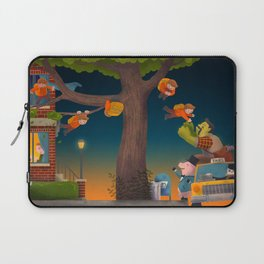 Let the Adventure Begin! Laptop Sleeve