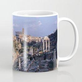 Roman Forum Ruins * Vintage Color Photo * 1950's * Kodachrome #rome  #italy Coffee Mug