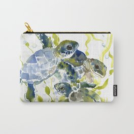 Baby Sea Turtles Carry-All Pouch