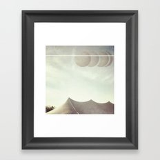 Space Circus Framed Art Print