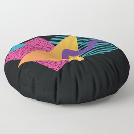 Memphis Pattern 29 / 80s - 90s Retro Floor Pillow