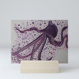 Slender Octopus Mini Art Print