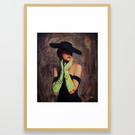 Lacey #2 Framed Art Print