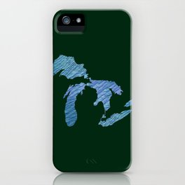 Great Lakes iPhone Case