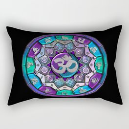 UROCK! Independence Mandala Rectangular Pillow