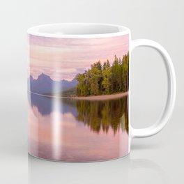 Lake Mcdonald Sunset Coffee Mug
