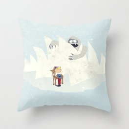 Douse the Light Throw Pillow