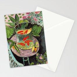 Henri Matisse Goldfish 1911, Goldfishes Artwork, Men, Women, Youth Stationery Cards